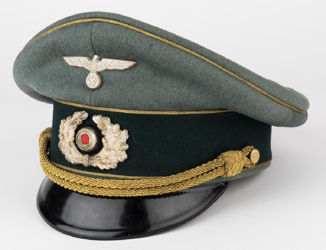 GENERAL FRANZ HALDER UNIFORM & VISOR - 3