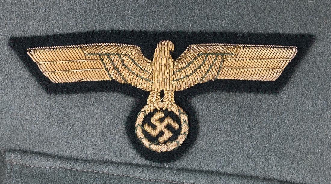 GENERAL FRANZ HALDER UNIFORM & VISOR - 9