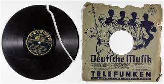 GERMAN MUSIC RECORD BY TELEFUNKEN