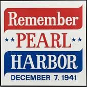 REMEMBER PEARL HARBOR PROPAGANDA POSTER