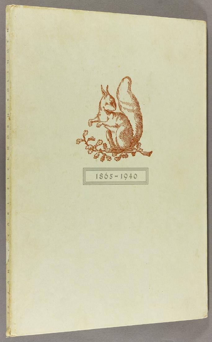 CARL EICKHORN COMMEMORATIVE PUBLICATION