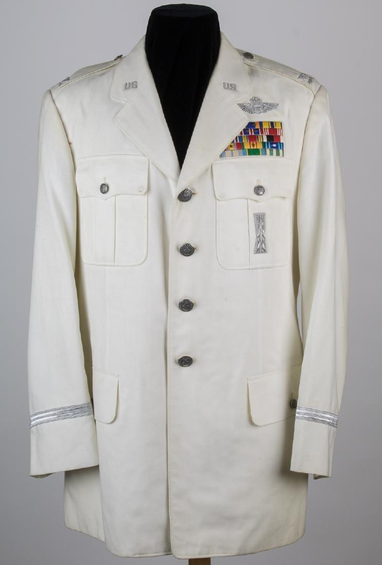 U.S. MISSILEMAN'S JAPAN-MADE WHITE DRESS UNIFORM