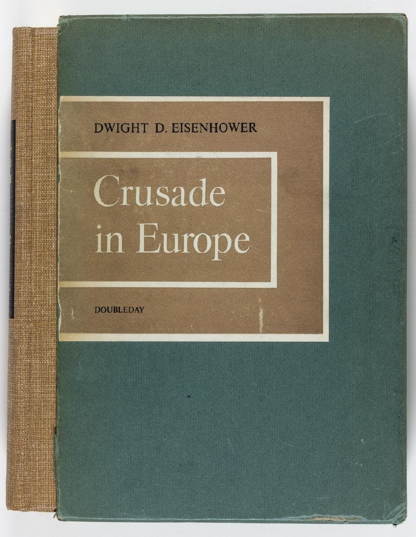 """CRUSADE IN EUROPE"" SIGNED BY DWIGHT EISENHOWER AND - 3"