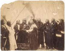"""""""INDIAN CHIEFS WHO...SETTLED THE INDIAN WAR"""" BY JOHN C."""