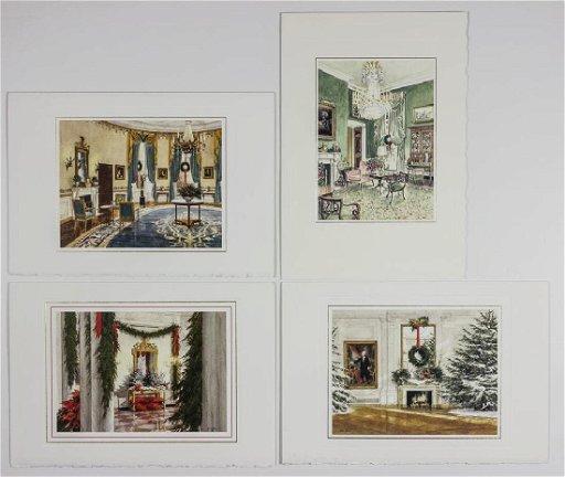 2019 White House Christmas Card.Ronald Reagan White House Christmas Cards Feb 19 2019