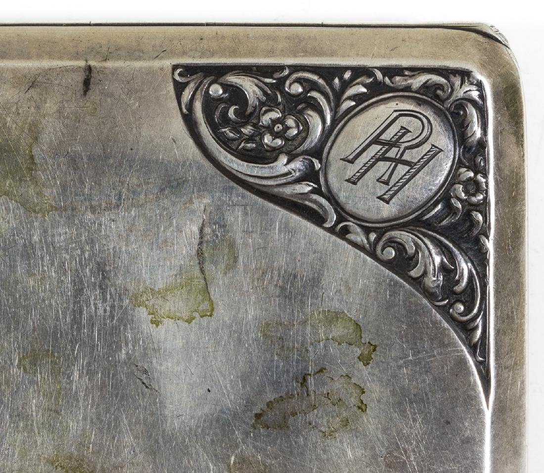 RUDOLF HESS CIGARETTE CASE GIFTED BY HIS WIFE, ILSE - 3