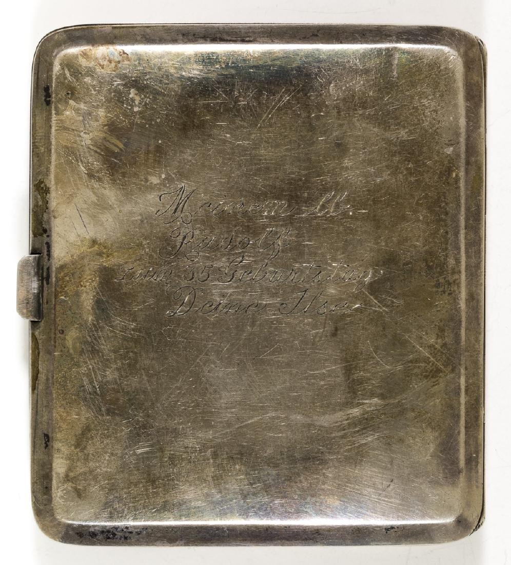 RUDOLF HESS CIGARETTE CASE GIFTED BY HIS WIFE, ILSE - 4