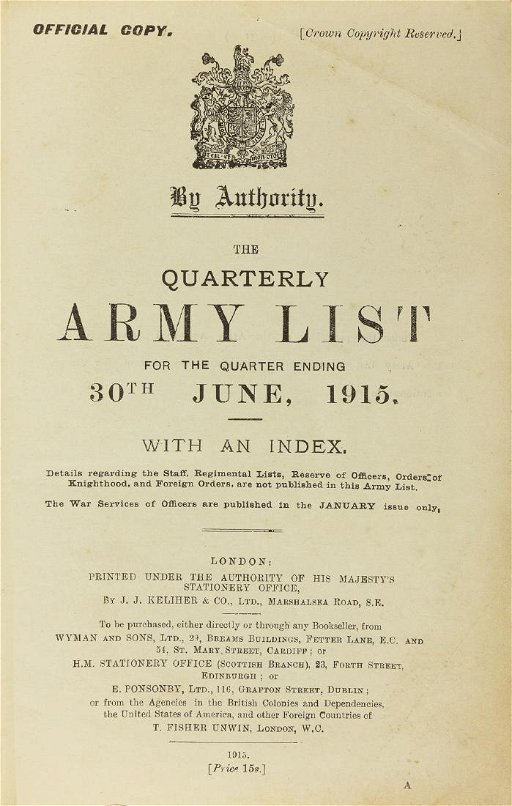 BRITISH WORLD WAR I MILITARY BOOKS - Jul 30, 2019 | Alexander