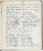 GEORGE S. PATTON FUNERAL VISITOR BOOK