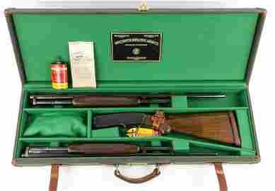 WINCHESTER MODEL 42 SHOTGUN TWIN SET