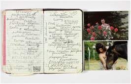 CHARLES MANSONS PERSONAL NOTEBOOK