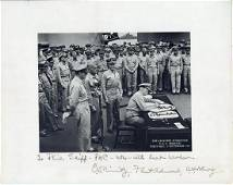 A PHOTOGRAPH OF THE JAPANESE SURRENDER ABOARD THE USS