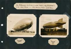 AIRSHIP GRAF ZEPPELIN ORIGINAL PHOTOGRAPHS