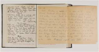 US SAILORS JOURNAL OF NEW GUINEA CAMPAIGN
