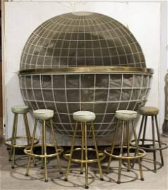 ADOLF HITLER'S 'WORLD' BAR FROM HIS YACHT 'AVISO GRILLE