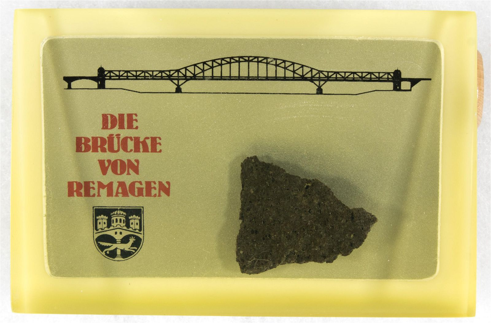 SOUVENIR PIECE OF REMAGEN BRIDGE