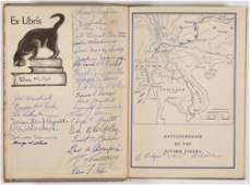FLYING TIGERS A.V.G. SIGNED BOOK