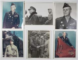 GEN. CLARENCE R. HUEBNER PHOTO GROUPING