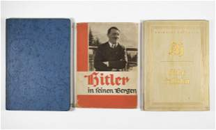 HEINRICH HOFFMANN PHOTO BOOKS OF ADOLF HITLER (3)