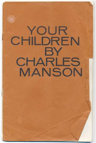 CHARLES MANSON COPY OF 'YOUR CHILDREN'