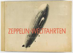'ZEPPELIN-WELTFAHRTEN' CIGARETTE BOOK