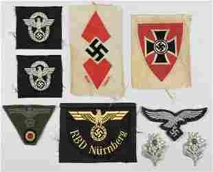 GERMAN CLOTH AND METAL INSIGNIA (9)