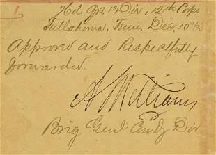 ALPHEUS WILLIAMS