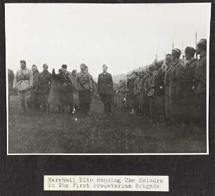 TITO AND POST-WAR YUGOSLAVIA PROPAGANDA PHOTOS