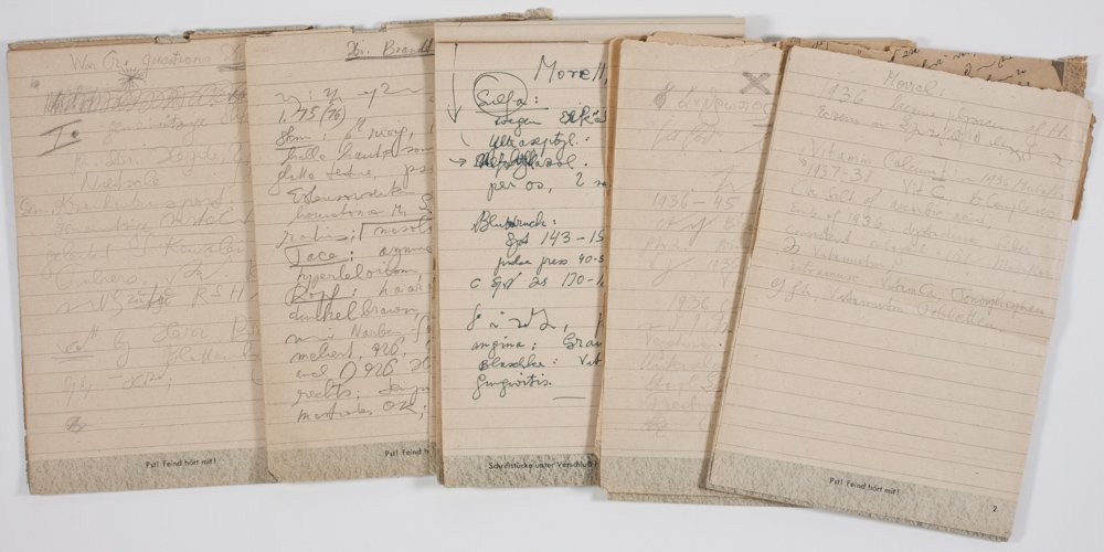 4: NOTES FROM THE INTERROGATION OF ADOLF HITLER'S PHYSI