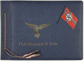 200: GERMAN FLAK REGIMENT PHOTO ALBUM