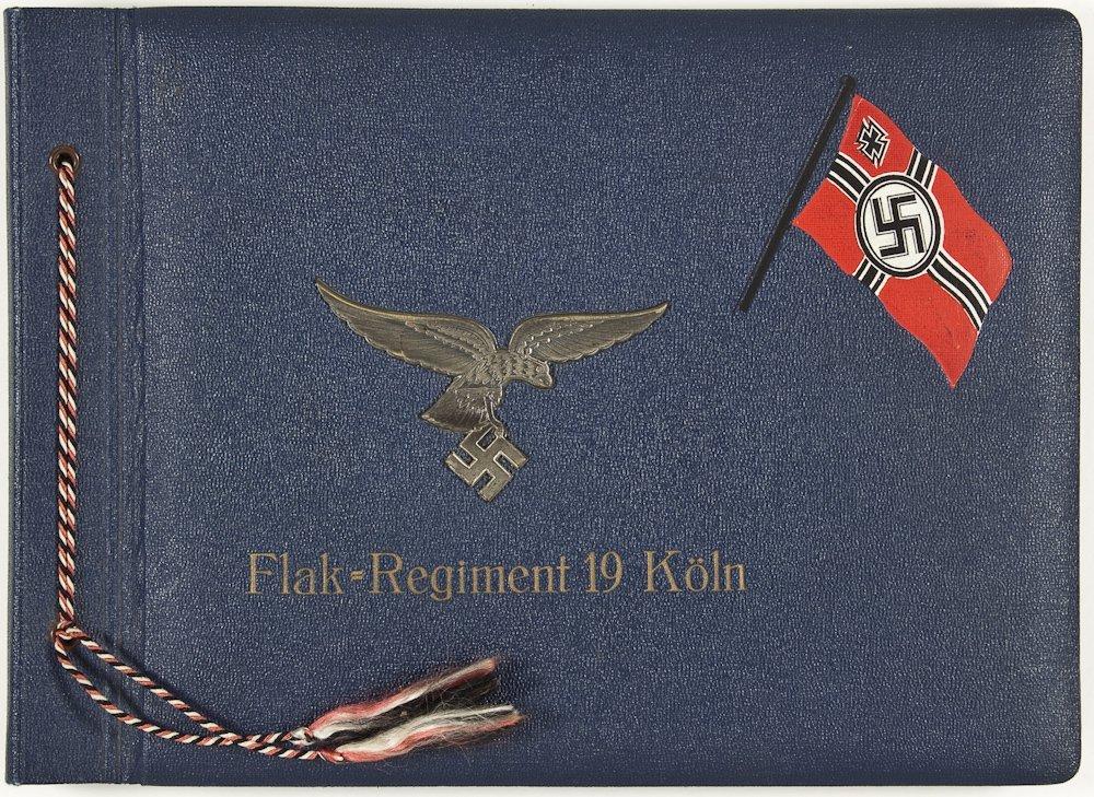 200: GERMAN FLAK REGIMENT PHOTO ALBUM