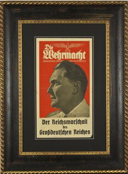 HERMAN G…RING DIE WERMACHT BROADSIDE*