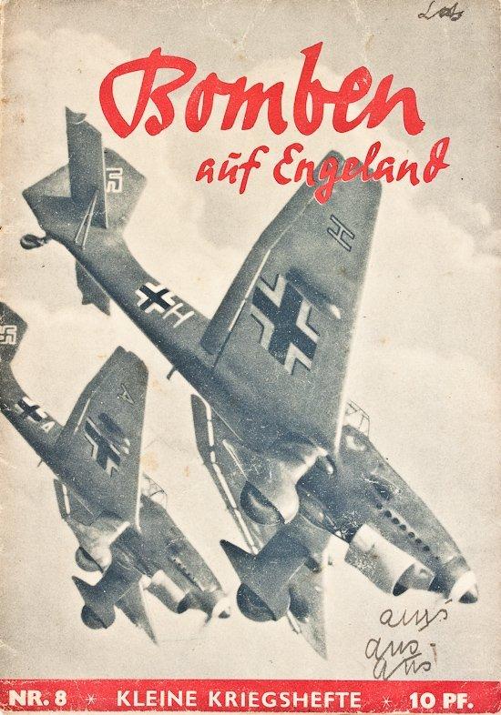 GERMAN BATTLE OF BRITAIN PROPAGANDA BOOK