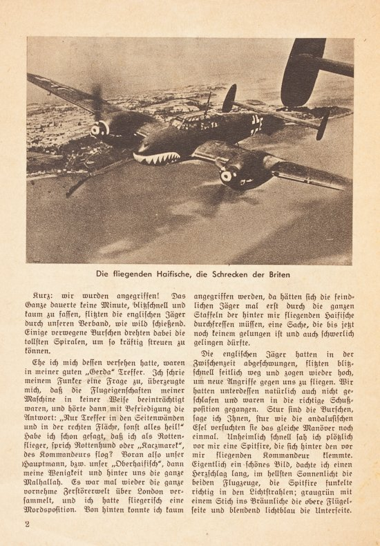 GERMAN BATTLE OF BRITAIN PROPAGANDA BOOK - 2