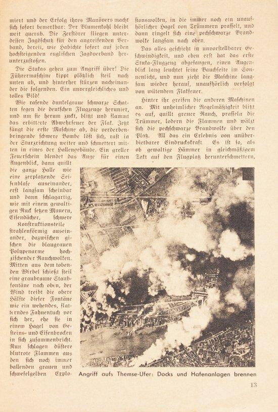 GERMAN BATTLE OF BRITAIN PROPAGANDA BOOK - 3