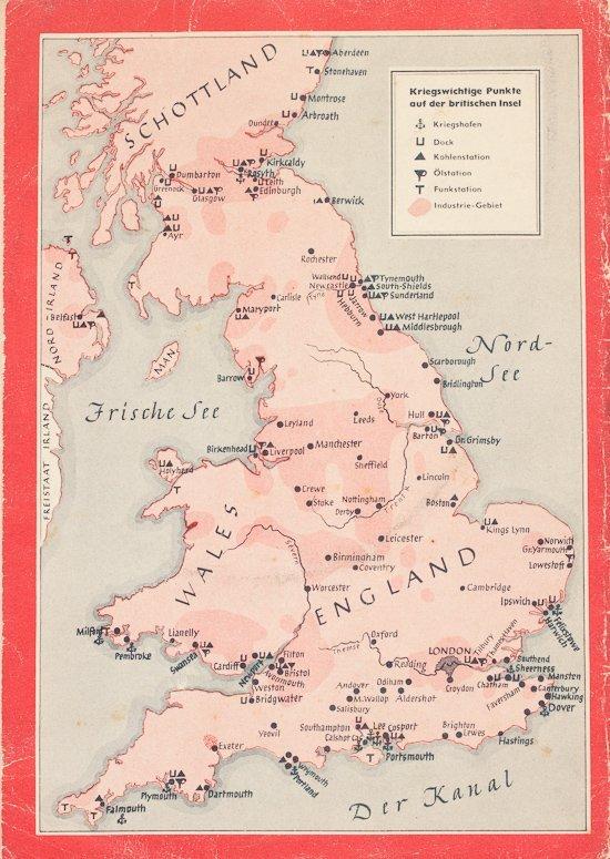 GERMAN BATTLE OF BRITAIN PROPAGANDA BOOK - 4