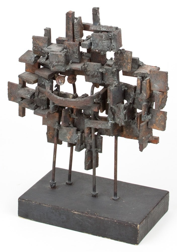 """ABSTRACT TABLE SCULPTURE - """"STELLYES"""""""