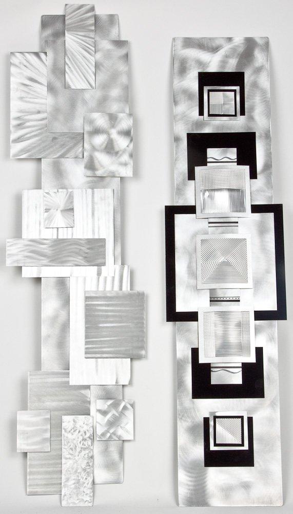 ABSTRACT WALL SCULPTURES (2) - JOHN AMEN