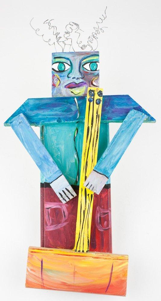 FOLK ART WALL HANGING - HOLLY HINKLE