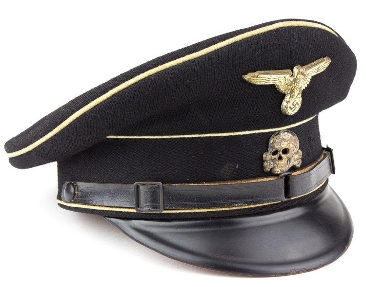 ALLGEMEINE-SS N.C.O. VISOR CAP - 2