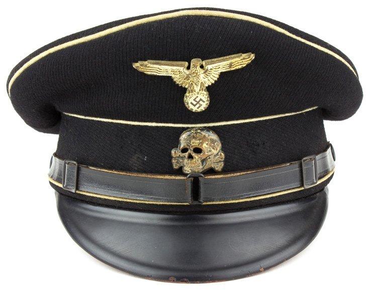 ALLGEMEINE-SS N.C.O. VISOR CAP - 3