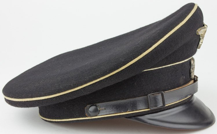 ALLGEMEINE-SS N.C.O. VISOR CAP - 4