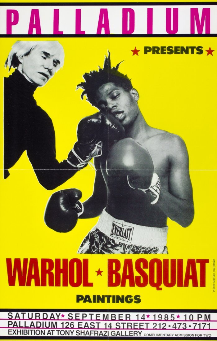(ANDY WARHOL AND JEAN-MICHEL BASQUIAT)
