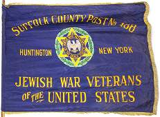 JEWISH WAR VETERANS OF THE UNITED STATES FLAG