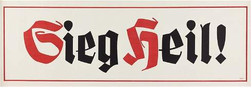 ADOLF HITLER ELECTION POSTERS