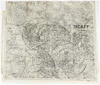 MAPS USED BY GEN. JOHN PERSHING IN THE PLANNING OF