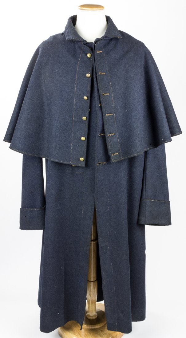 EARLY MANUFACTURE UNION GREATCOAT WITH CAPE