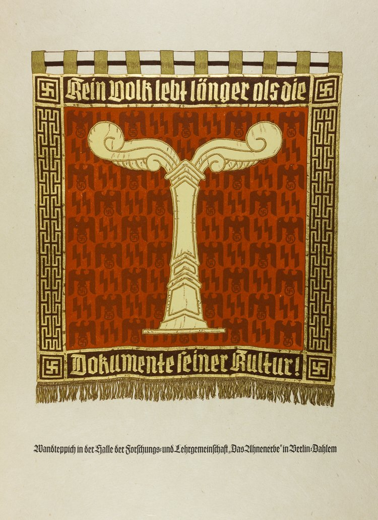 """HEINRICH HIMMLER """"DAS AHNENERBE"""" - GIFT TO ADOLF HITLER"""