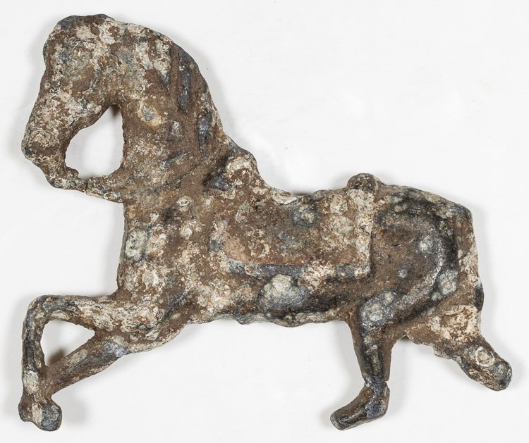 1700S TOY HORSE FROM A DELAWARE SHIPWRECK