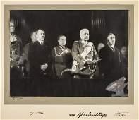 ADOLF HITLER, PAUL VON HINDENBURG, FRANZ VON PAPEN